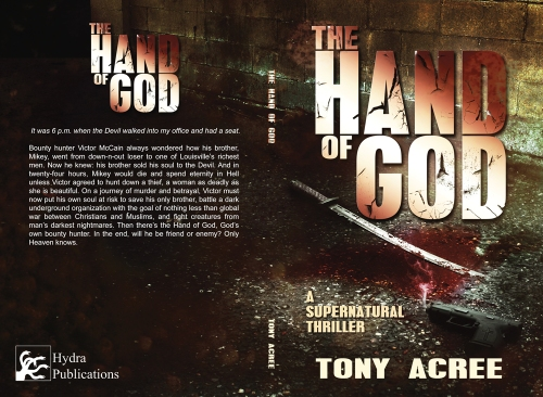 The Hand of God Cover Reveal